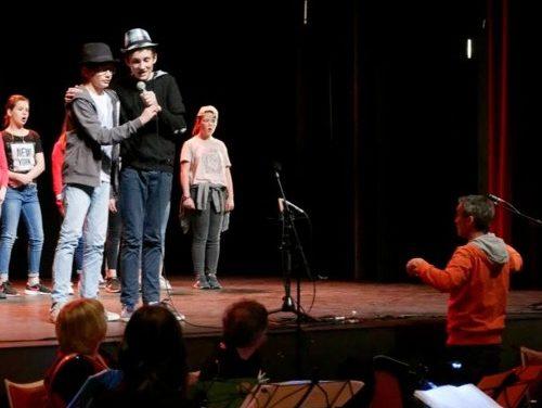 Paris Rive Gauche, la comédie musicale par les collégiens de Dieulefit