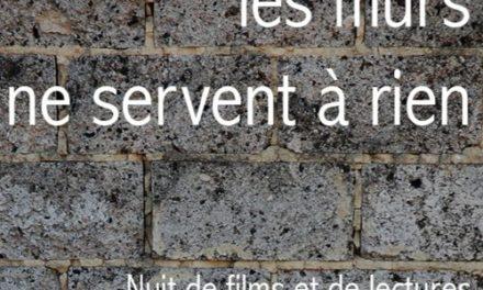 Les murs ne servent à rien première édition