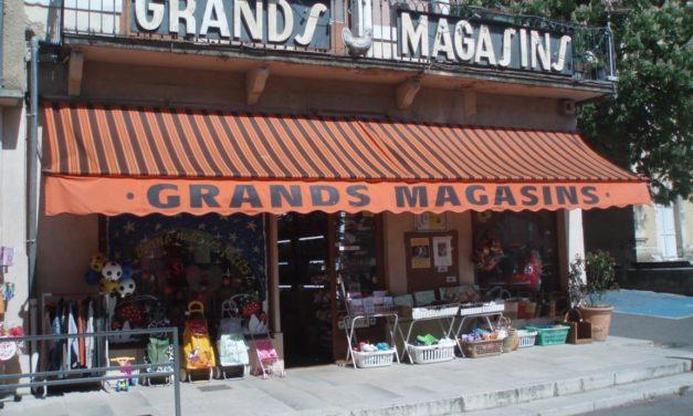 Reportage aux Grands magasins de Dieulefit