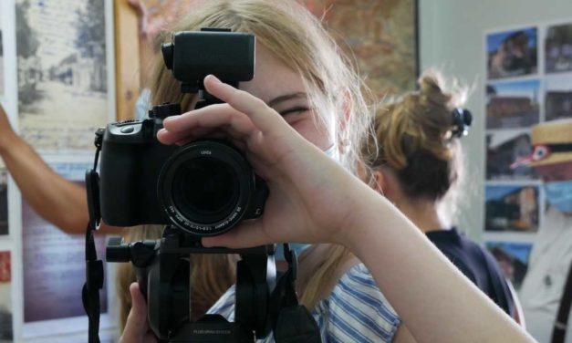 Séjour vidéo à l'espace jeunes de Dieulefit