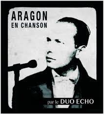 Le duo Écho met Aragon en chanson