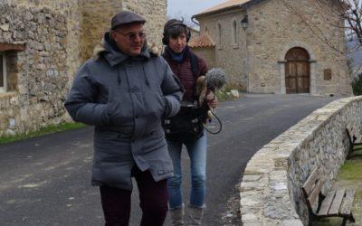 Formation au paysage sonore auprès des acteurs éducatifs du PNR des Baronnies Provençales #Élisa et Manu