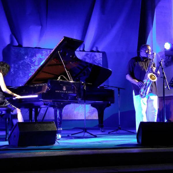 David Murray et Aki Takase à Nuée de jazz poet-laval
