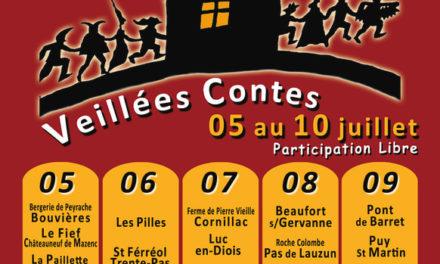 La marche des conteurs dans la Drôme