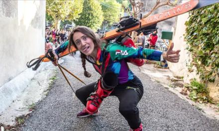 Bizz'Art 2021 : leur combat pour représenter le street-ski aux JO : Tatooshuss et Thomas Fleuve de Marzouk Machine à l'Oasis Bizz'Art